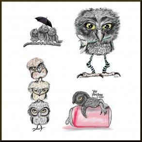 Plakater Ugler /Owls